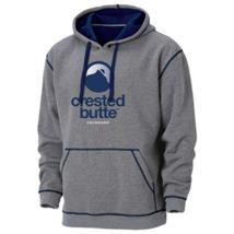 Small Men's Ouray Sportswear Hoodie Crested Butte Resort Transit Hooded Fleece
