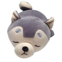 Miniso Sleepy Husky Plush Gray Dog Super Soft Squishy Stuffed Animal Toy... - $29.31