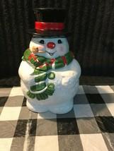 Vintage rare Enesco frosty the snowman cookie jar - $50.00