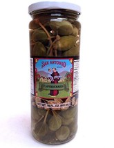 16 oz Imported Caperberries Caper Berries in Vinegar and Salt Brine - £13.95 GBP