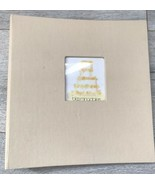 Bloomingdale's Album Fotografico Tela Cover 25 Pagine Matrimonio Immagin... - $19.76