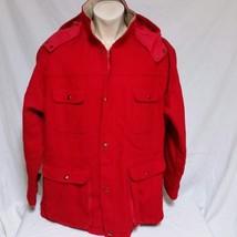 VTG Pendleton Outdoorsman Wool Coat Mackinaw Hunting Cruiser Jacket Spor... - $75.99