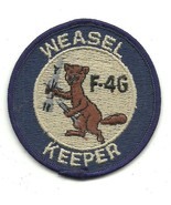 USAF Weasel Keeper 37th TFW out of George AFB F-4G Vintage Patch - $11.87