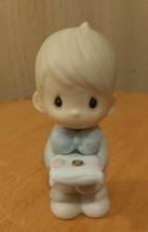 Precious Moments 1983 Ring Bearer Figurine in Perfect Condition  - $6.00