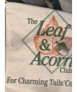 Charming Tails Leaf & Acorn Club Tote Bag - $0.00