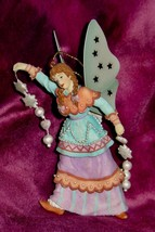 Whimsical Winged SPRITE or FAIRY FIGURINE ORNAMENT by UNITED DESIGN - NWT ! - $9.46