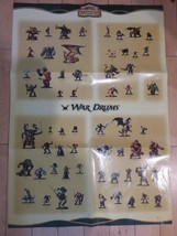 War Drums Set Poster D&D Miniatures New D&D Miniatures - $2.96