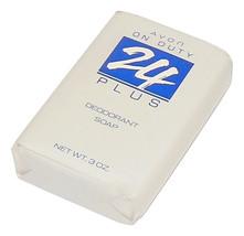Vintage Unisex Avon Soap On Duty 24 Plus Deodorant Bar of Soap 3 oz Rich... - $4.50