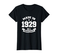 Brother Shirts - Age Shirt Made in 1929 89th Years Old 89 Birthday Gift ... - $19.95+