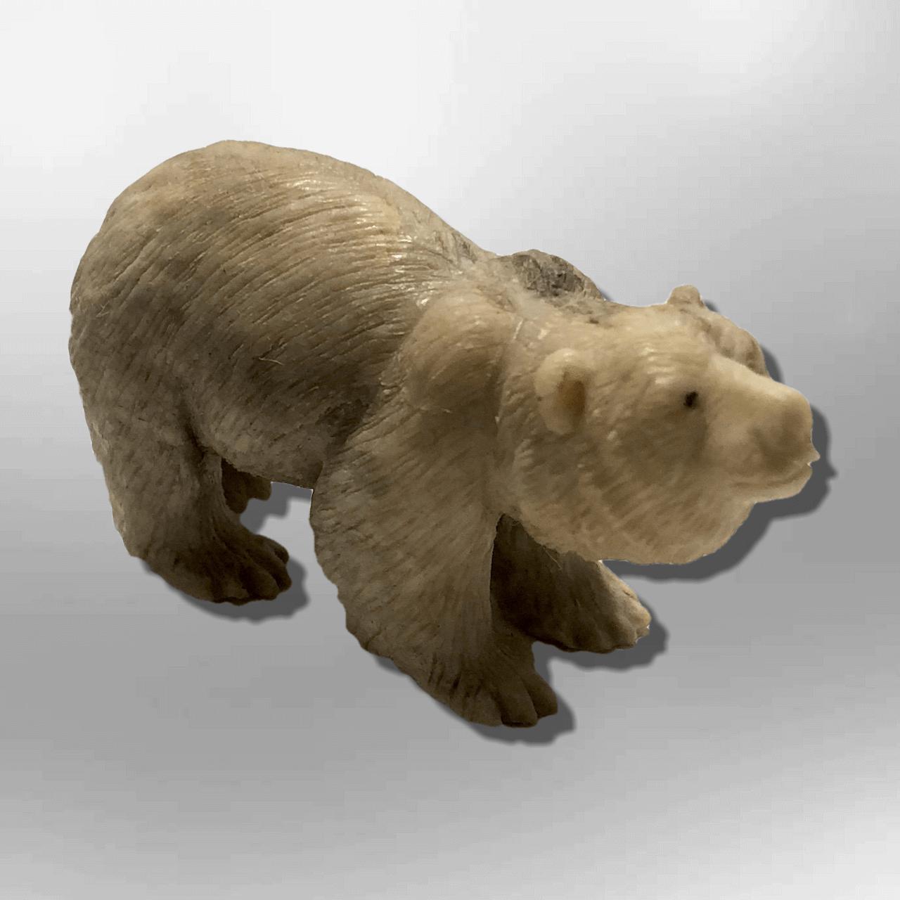 Bone bear front table fetish