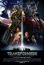 Transformers Last Knight - original DS movie poster - 27x40 D/S FINAL B - $28.00