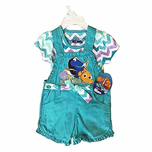Disney Jumper 2 Pieces Set 2T-4T (2T, Aqua Dory)