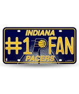 NBA Indiana Pacers Bling #1 Fan Metal License Plate Tag - $7.99