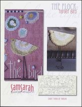 The Flock: Target Bird Chart 3 cross stitch chart SamSarah Designs - $7.20