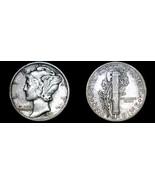 1937-D Mercury Dime Silver - $17.99