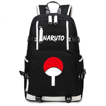 Naruto Theme Fighting Anime Series Backpack Schoolbag Daypack Sasuke Family - $36.99