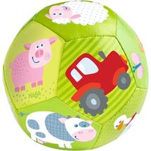 "HABA Baby Ball on The Farm 4.5"" for Babies 6 Months and Up - $10.99"