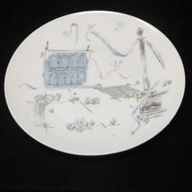 "Rosenthal Germany Raymond Loewy Plaza Design Salad Plate 7 1/2"" - $7.53"