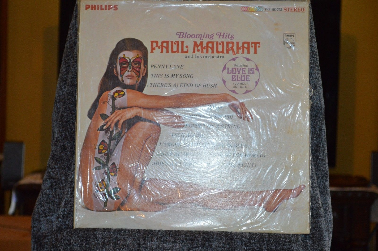 Paul Mauriat and his Orchestra, vinyl