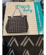 iPack Baby Diaper Bag Drop Front Diaper Bag Backpack New - $24.22