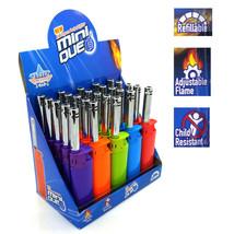 Elite Mini Long Tube Lighter Bulk Wholesale 25 Pack Refillable Candle BB... - $39.99