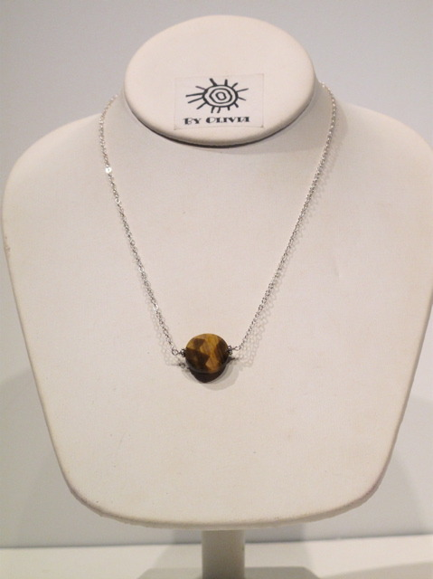 Silver Tiger's Eye Necklace