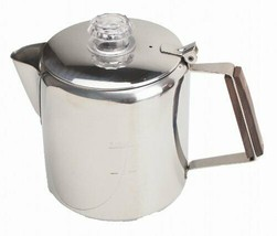 *Captain stag coffee pot 18-8 stainless steel percolator 6 cups M-1224 - $46.67