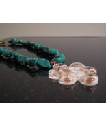 Turquoise Murano Glass Necklace - $45.00