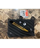 ZIPIT Monster Grillz Binder Pencil Pouch Case with Gold Teeth - $7.91