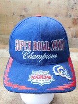 Super Bowl XXXIV Champions 2000 Atlanta Rams Strapback Adjustable Adult ... - $7.91
