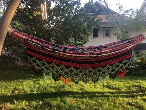 Primary image for Colombian Hammock Colombian Wayuu Handmade Chinchorro Craftsmanship Double Face