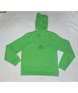 Adidas Lime Green Size Large Girls Hoodie - $15.99