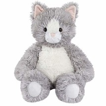 Vermont Teddy Bear Oh So Soft Kitty Cat Stuffed Animals Plush Toy, Gray,... - $38.61