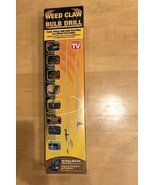 NEW IN BOX WEED CLAW, BULB DRILL (2 Piece Set) AS SEEN ON TV - $15.79