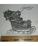 Avon Collectibles Pewter Christmas Ornament ~ 1995 St. Nicholas - $9.85