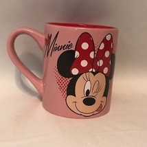 Disney Minnie Mouse Coffee Mug / Cup - Pink and Red - $8.79
