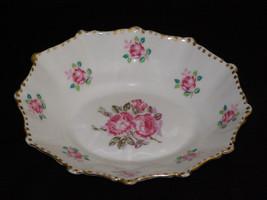 Vintage Royal Stafford Tudor Rose Gold Trim Bone China Made In England O... - $14.00