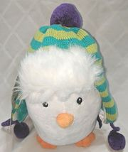 Baby Aspen BA11039NA Ice Caps Hat For Baby And Penguin Plush Gift Set image 3