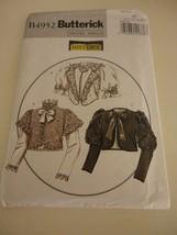 Plus size Vintage style jacket Butterick B4952 uncut sewing pattern 14-20 - $22.76