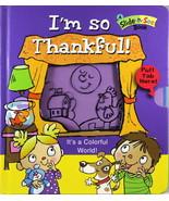 I'm So Thankful Boardbook Slide-n-See Book God's Blessings Great for Kid... - $9.70