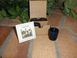 Longaberger Proudly American Breeze Votive Candles SET OF 4 NEW ORIGINAL... - $9.85