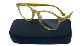 Calvin Klein Women's Yellow Glasses with case CK 5859 529 50mm - $73.99