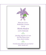 Lilac Bridal Shower Invitations - $34.00