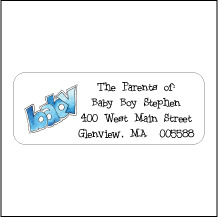 Children's Return Address Labels