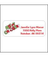 Holiday Return Address Labels - $9.25