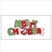 Merry Christmas DotsTri-Fold Money Holder - $7.25