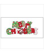 Merry Christmas DotsTri-Fold Money Holder - $7.25