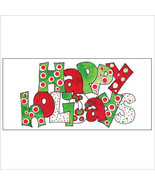 Happy Holidays Dots Tri-Fold Money Holder - $7.25