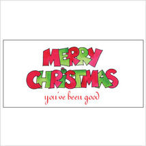 Merry Christmas (you've been good)  Money Holder - $7.25