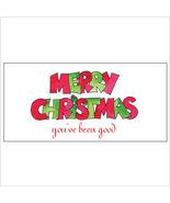 Merry Christmas (you've been good)  Money Holder - $7.25